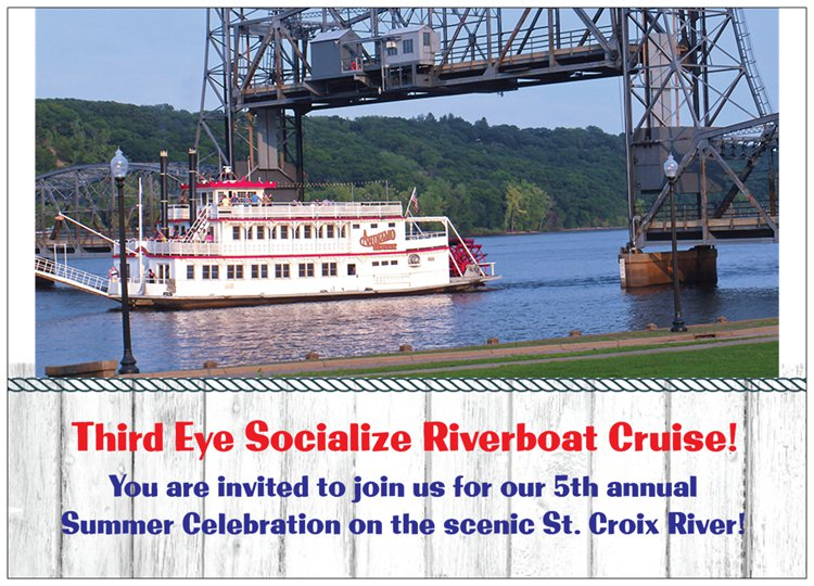 Third Eye Socialize Riverboat Cruise - You're Invited!