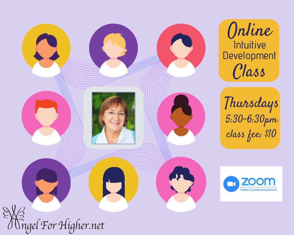 Online Interactive Thursday Intuitive Development Class with Annette! @ Zoom Video Conference/Class